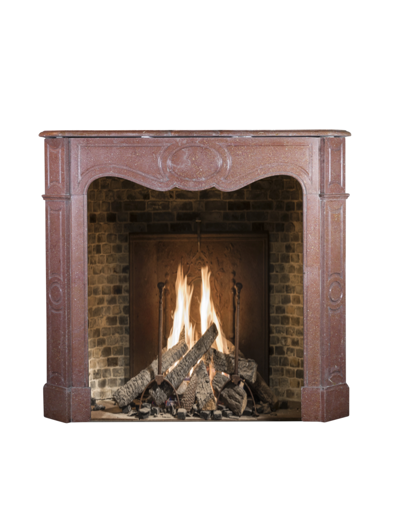 Red Buxy French Marble Stone Small Fireplace Surround The Antique Fireplace Bank
