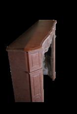 Red Buxy Französisch Marmor Stein Kleiner Kaminmaske