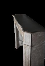 Brown Buxy Französisch Marmor Kleinen Kaminmaske