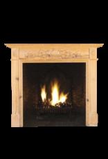 The Antique Fireplace Bank British Classic  Kiefernholz Und Dekokamin