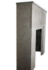 Französisch Rose Liseron Marmor Art Deco Kamin Stück