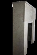 Französisch Rose Liseron Marmor Art Deco Kamin
