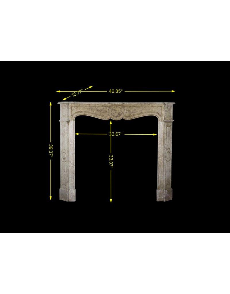 Französisch Pompadour In Beige Marmor Für Französisch Stil Zimmer