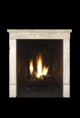 The Antique Fireplace Bank Vintage Kleine Französisch Kalkstein Kaminmaske