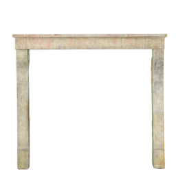 Small French Country Vintage Fireplace Surround