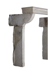 Höhe Französisch Rustic Mantle In Multi Color Kalkstein