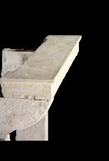 Manto De Alta Francesa Rústica En Color Multi De La Piedra Caliza