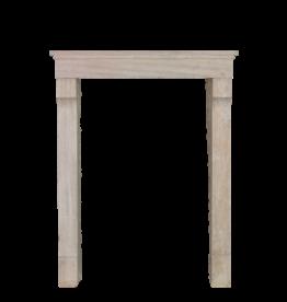 Kleine Französische Kalkstein Kamin Verkleidung
