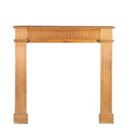Small Country Wooden Fireplace Surround