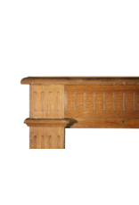 Small Country Wooden Fireplace Mantle