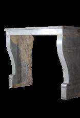 The Antique Fireplace Bank Französisch Antik Kaminmaske In Zweifarbig Stein