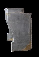 Französisch Antik Kaminmaske In Zweifarbig Stein