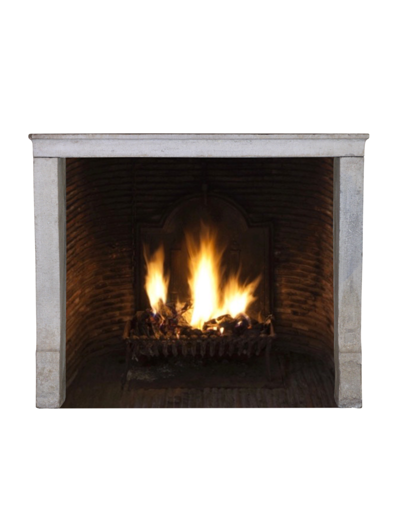 The Antique Fireplace Bank Fine French Country Limestone Antique Fireplace Surround