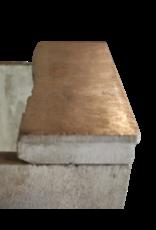 Fine Francés País De La Piedra Caliza Antigua Chimenea