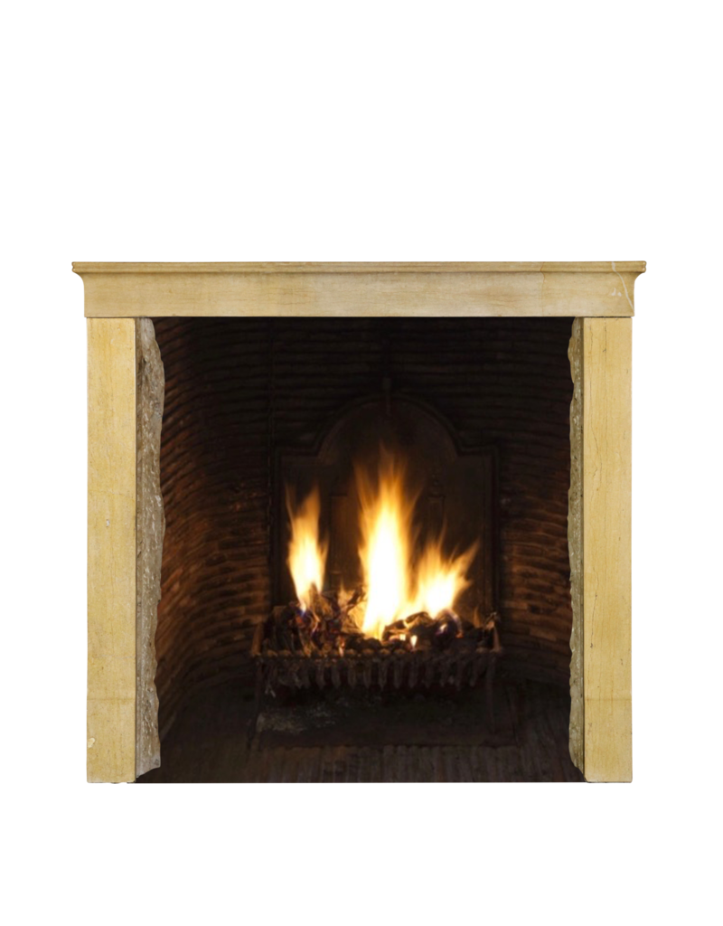 The Antique Fireplace Bank Honig Farbe Französisch Kalkstein Antike Kaminmaske