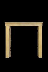 Honig Farbe Französisch Kalkstein Antike Kaminmaske