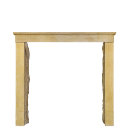 The Antique Fireplace Bank Honey Color French Limestone Vintage Fireplace Surround