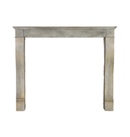Small Grey Timeless Chique Fireplace Surround