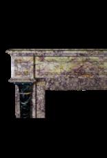 Brocatelle Marmor Jahrgang Kamin