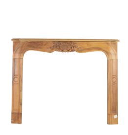 The Antique Fireplace Bank Elegant Wooden Surround
