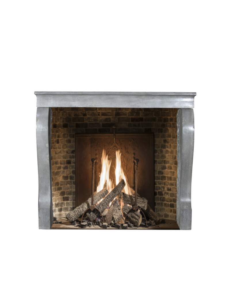 The Antique Fireplace Bank Small Fireplace Surround In Color Limestone