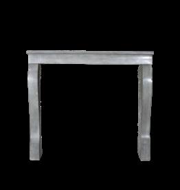 Elegante Bleu Grau Französisch Kamin Verkleidung