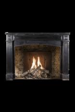 The Antique Fireplace Bank Rustikale Schwarzer Belgischer Marmor Surround