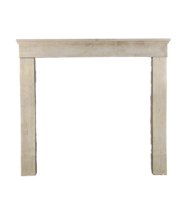 The Antique Fireplace Bank French Timeless Limestone Surround