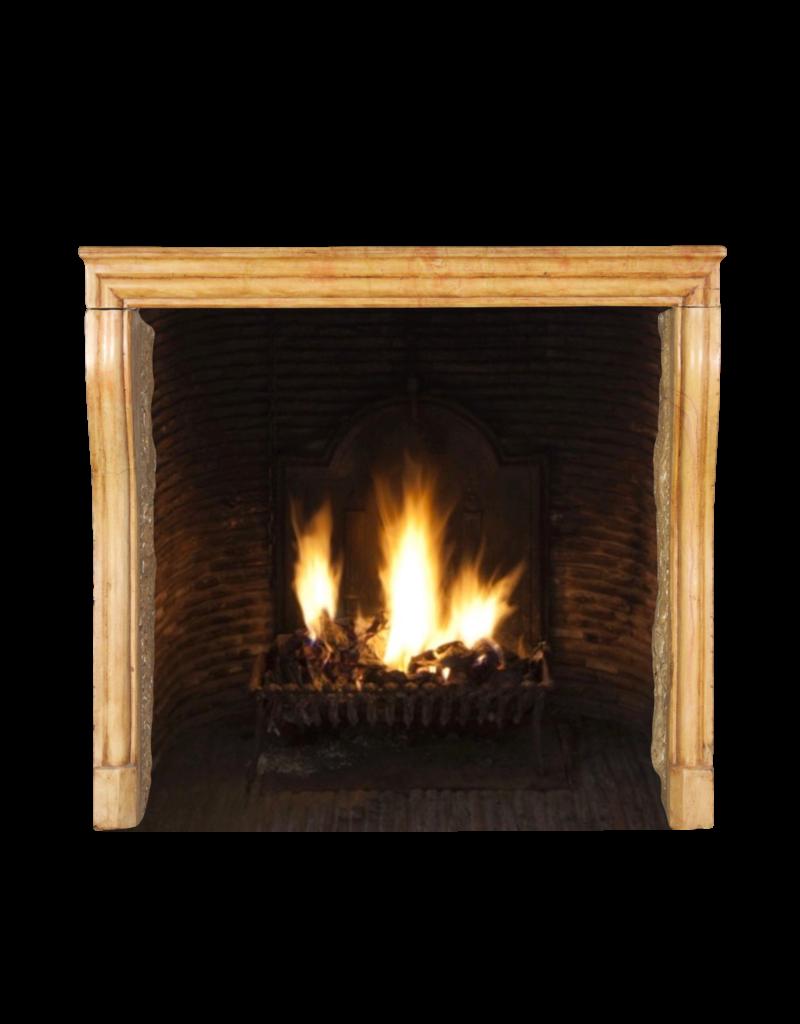 French Limestone Fine Fireplace Surround