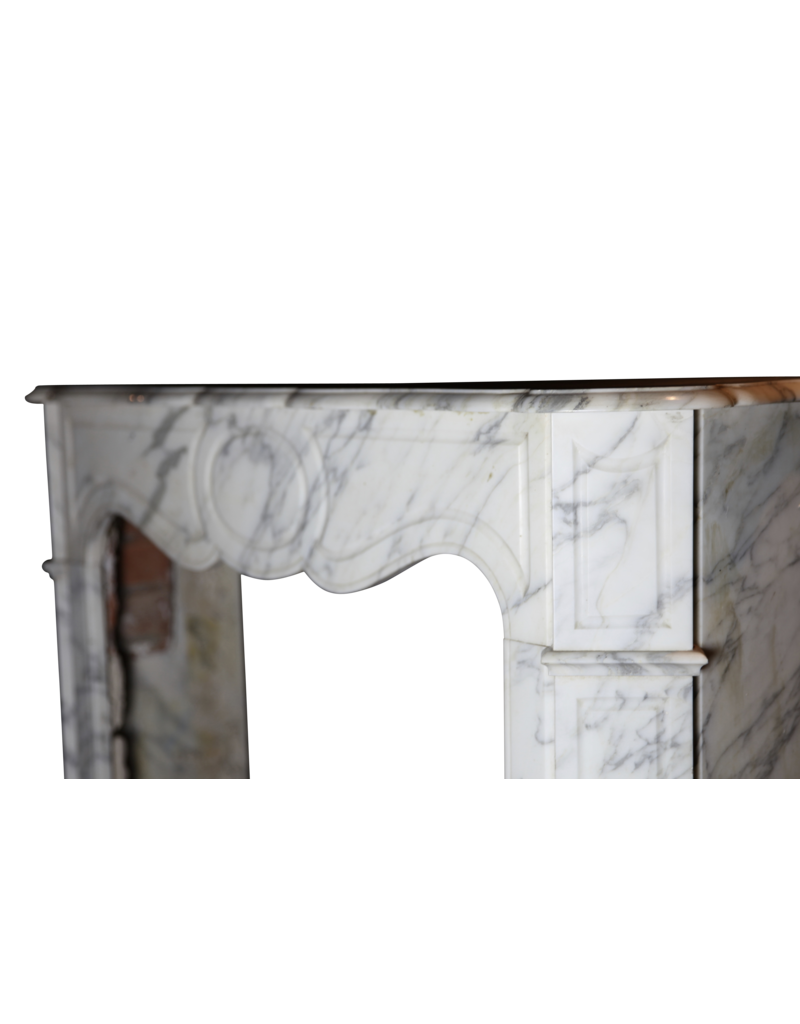 Pompadour Classic French Fireplace Surround