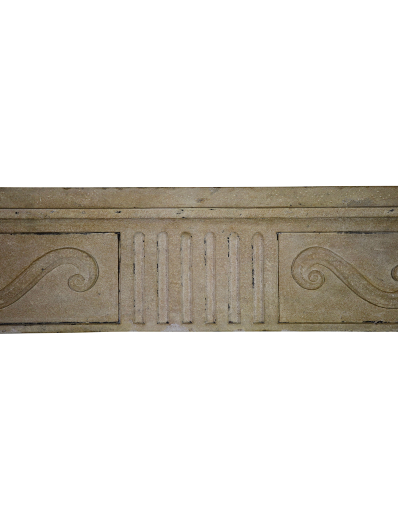 The Antique Fireplace Bank French Classic Limestone Surround