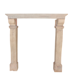 The Antique Fireplace Bank High French Rustic Mantle