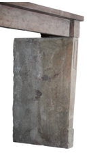 Rustikal Antike Kalkstein Kamin
