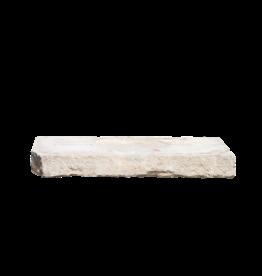 The Antique Fireplace Bank Recuperada Francesa Piedra Caliza Elemento Arquitectónico