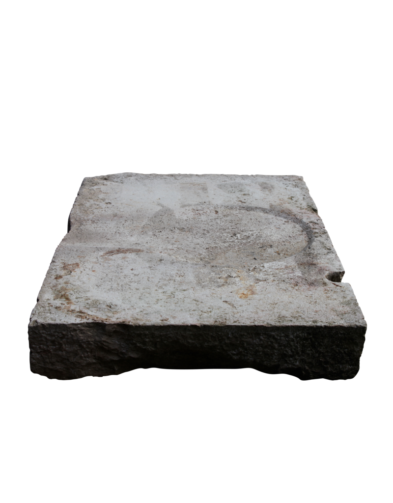Reclaimed French Limestone Architectural Element