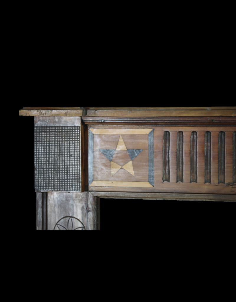 Französisch Land Holz Kamin-Mantel