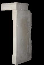 Fina Piedra Caliza Francesa Recuperada Chimenea