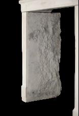 Feines Französisch Kalkstein Von Regenerierten Kaminmaske