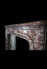 19Th Century Belgian Marble Fireplace Surround
