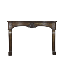 18Th Century French Oak Fireplace Mantel