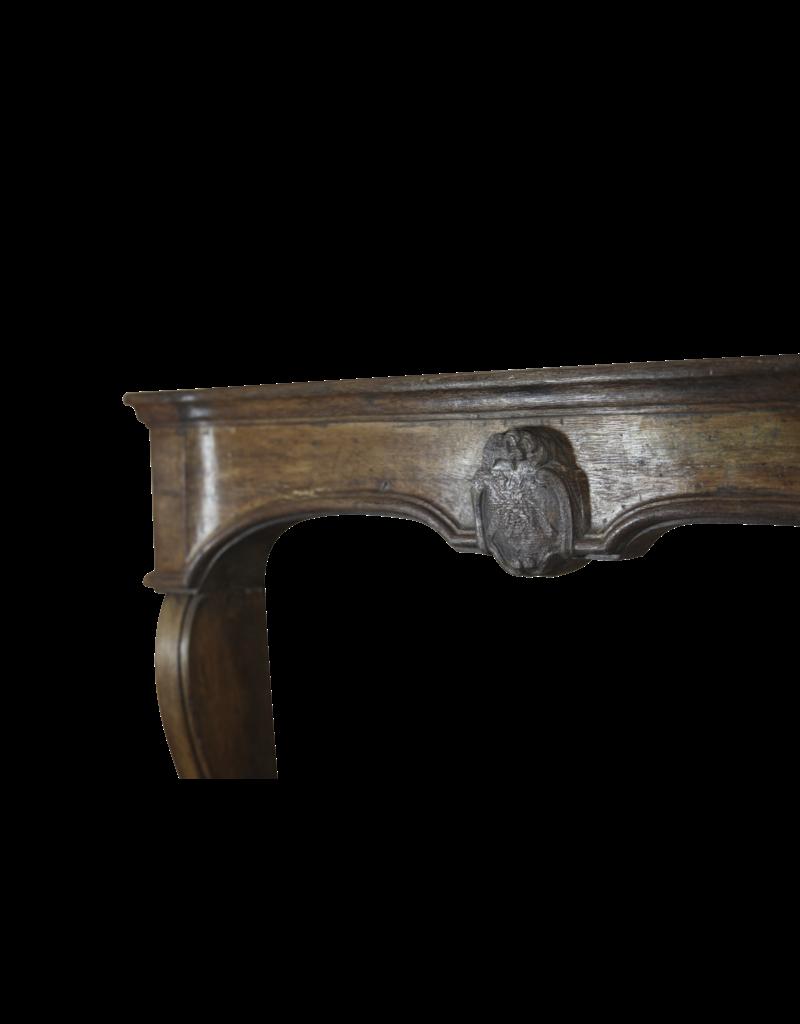 18. Jahrhundert Französisch Eiche Kaminmaske