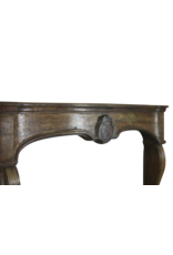 The Antique Fireplace Bank 18Th Century French Oak Fireplace Surround
