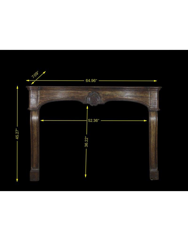 Maison Leon Van den Bogaert Antique Fireplaces & Vintage Architectural Elements 18Th Century French Oak Fireplace Surround