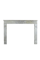 18Th Century Fine French Fireplace In Marble