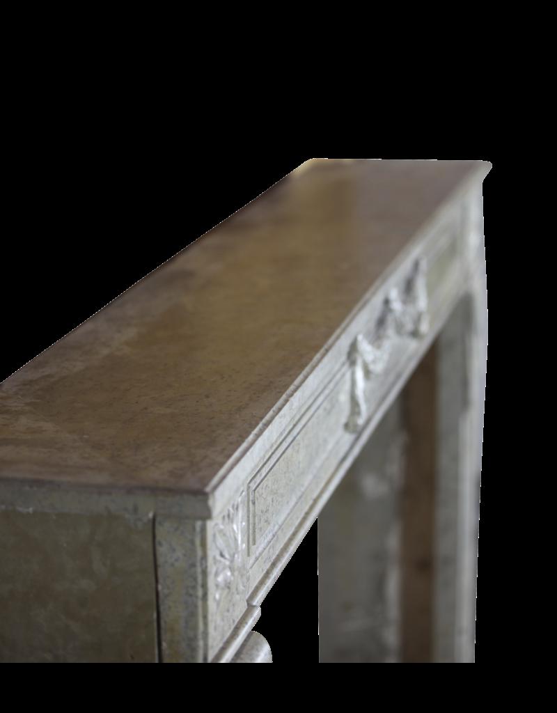 18. Jahrhundert Feine Französisch Kamin In Marmor