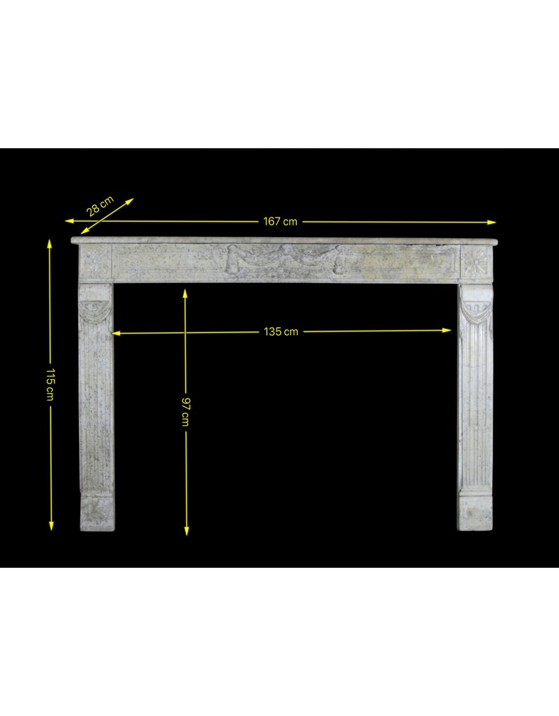 The Antique Fireplace Bank 18Th Century Fine French Fireplace In Marble