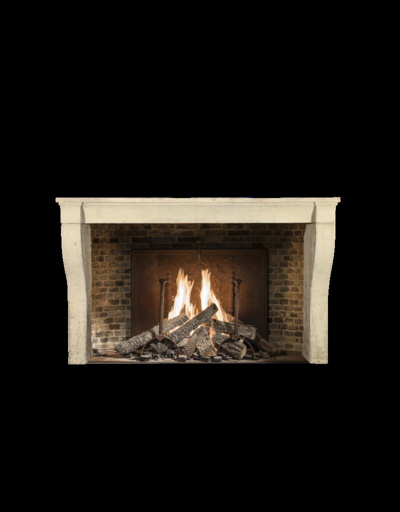 The Antique Fireplace Bank Französisch Kalkstein Eleganter Kaminmaske