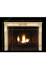 Fine Louis XVI Style Vintage Fireplace Surround