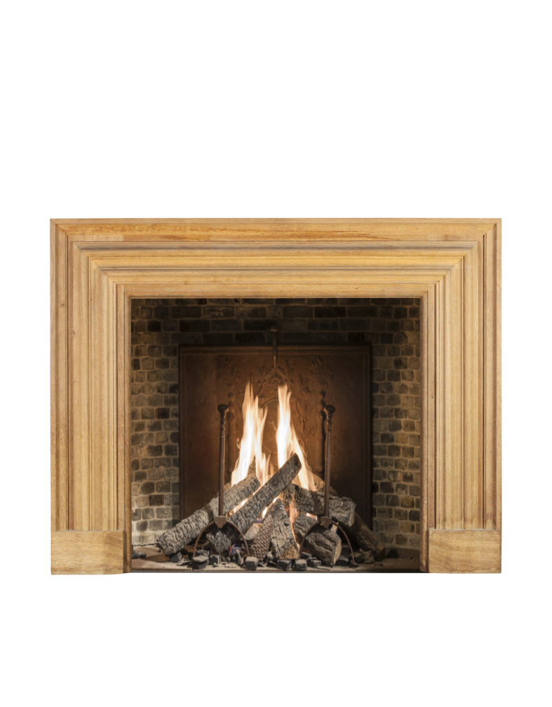 The Antique Fireplace Bank Bolection Oak Wood Fireplace Surround