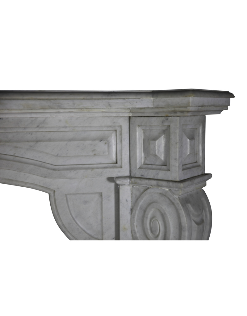 The Antique Fireplace Bank Belgian White Fireplace